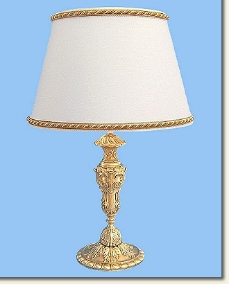 Classic Large brass table lamp