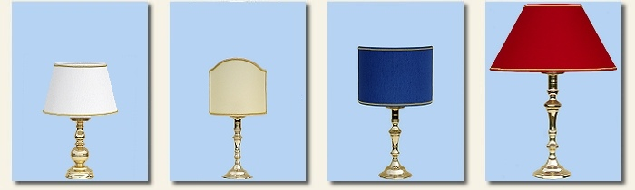 simple brass table lamps
